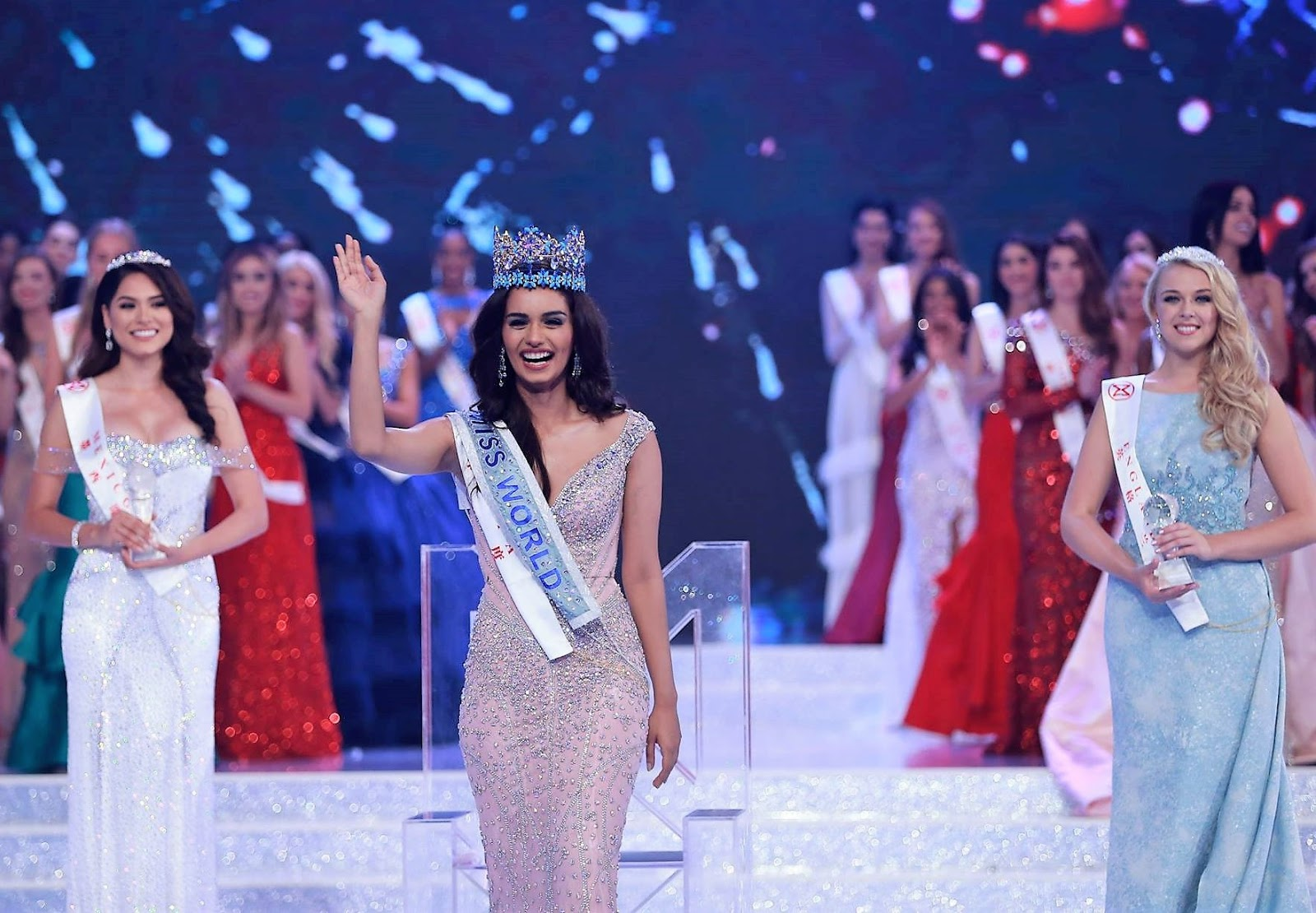 Miss World Competition has determined the winner