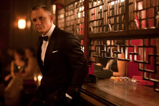 Daniel Craig in tuxedo in Skyfall