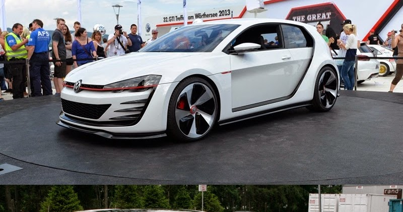 germany cars tuning powerfull golf design vision gti and. Black Bedroom Furniture Sets. Home Design Ideas