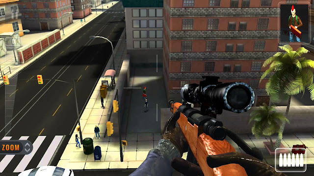Download Game Sniper 3D Assassin Mod cho Android