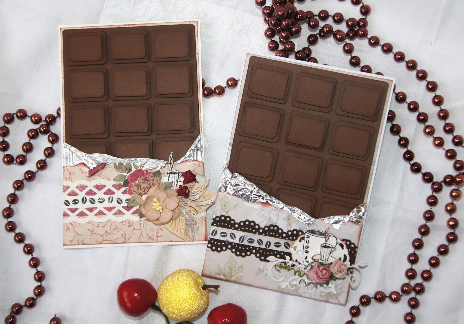 Открытки из шоколада мк