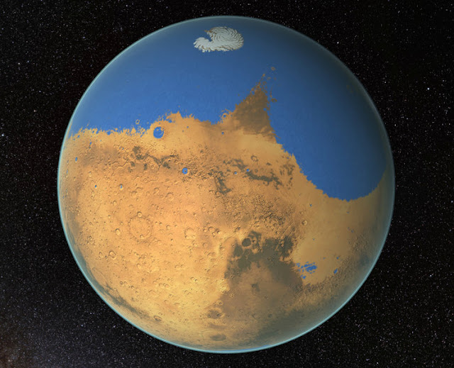 New water cycle on Mars discovered