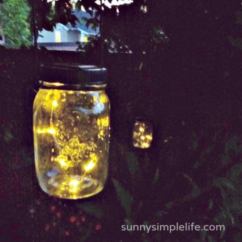 solar lights, solar mason jars