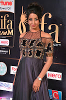 Sanjjanaa Galrani aka Archana Galrani in Maroon Gown beautiful Pics at IIFA Utsavam Awards 2017 17.JPG