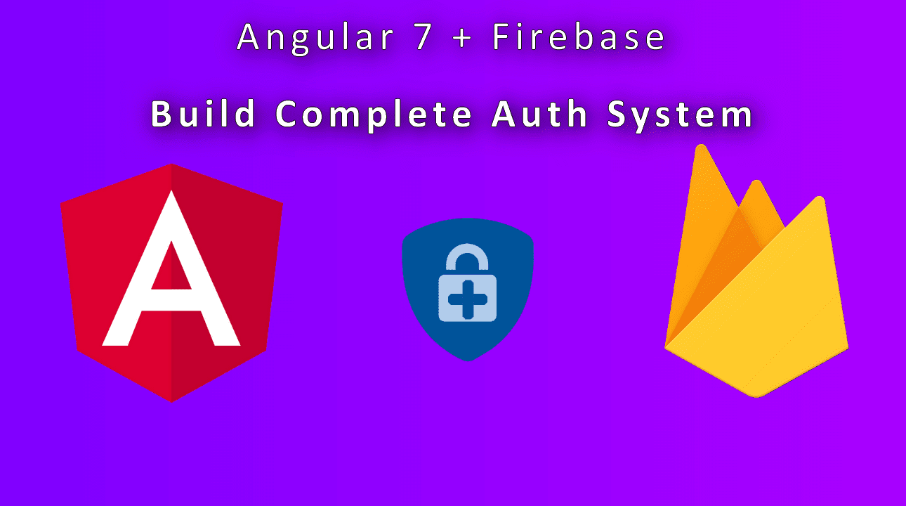 firebase authentication with angular 7