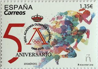 50 ANIVERSARIO REAL ACADEMIA OLÍMPICA ESPAÑOLA