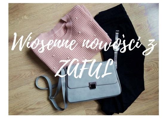 ZAFUL order review & OOTD with pastel sweater | Haul zakupowy z ZAFUL & strój dnia z pastelowym swetrem