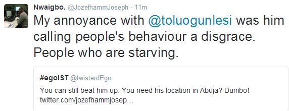 Man threatens to beat-up president Buhari's special assistant on Twiiter