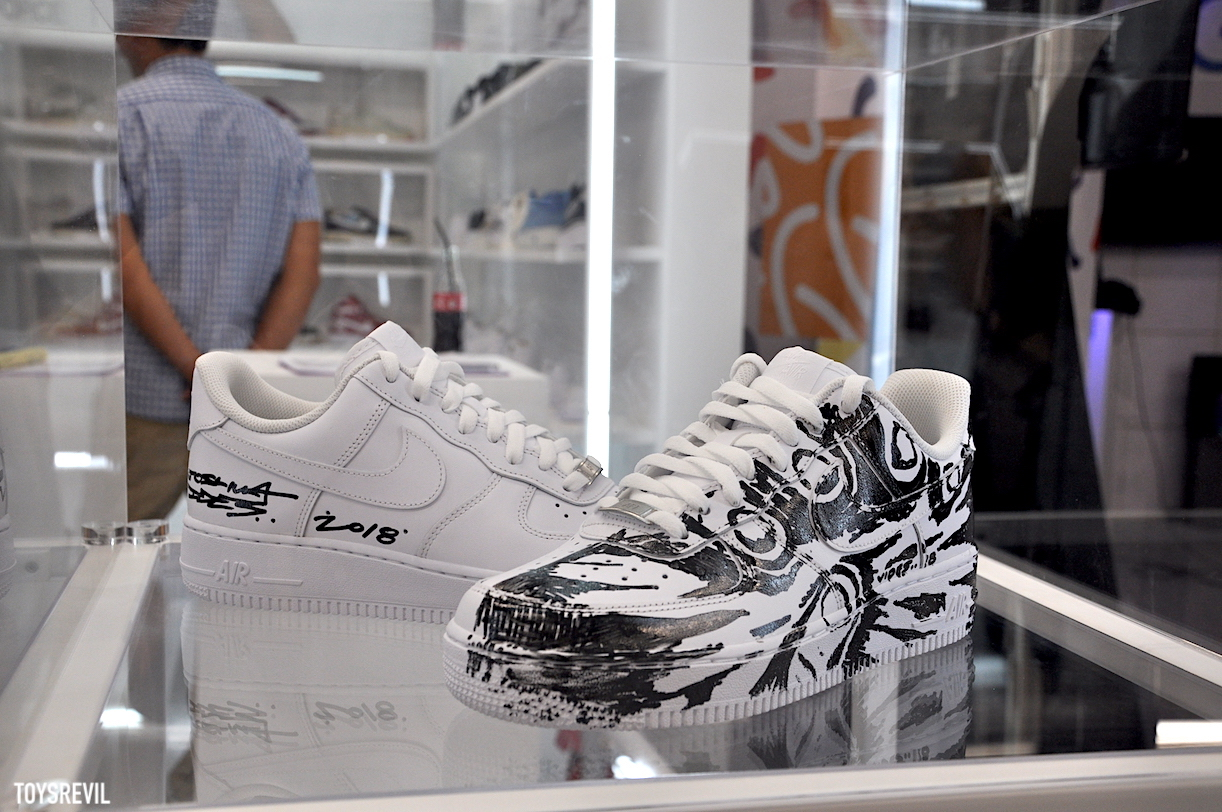 NIKE AIR FORCE 1 & Sneaker Customizing Workshop @ Culture