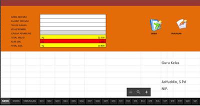 Tampilan Aplikasi Tabungan Siswa-http://www.librarypendidikan.com/