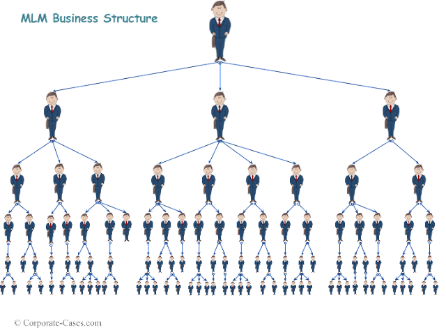 Multi Level Marketing (MLM) Business Structure