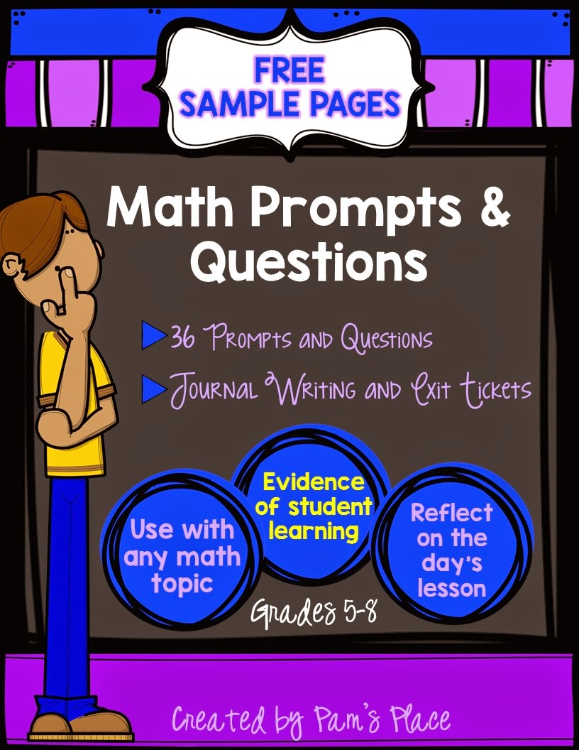 https://www.teacherspayteachers.com/Product/FREE-Sample-from-Math-Prompts-Questions-Journal-WritingMath-Exit-Tickets-1637116