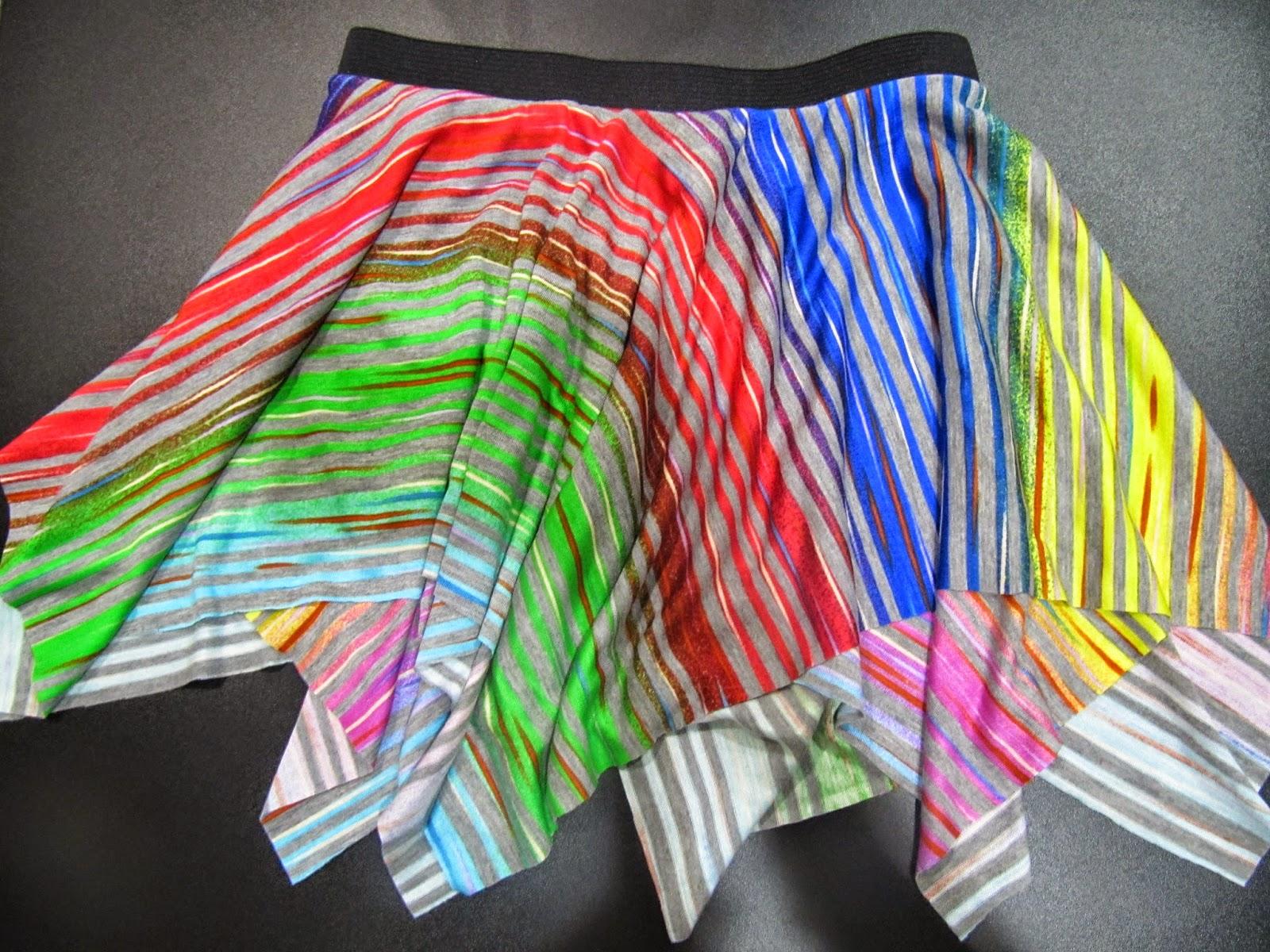 falda etoile con vuelo
