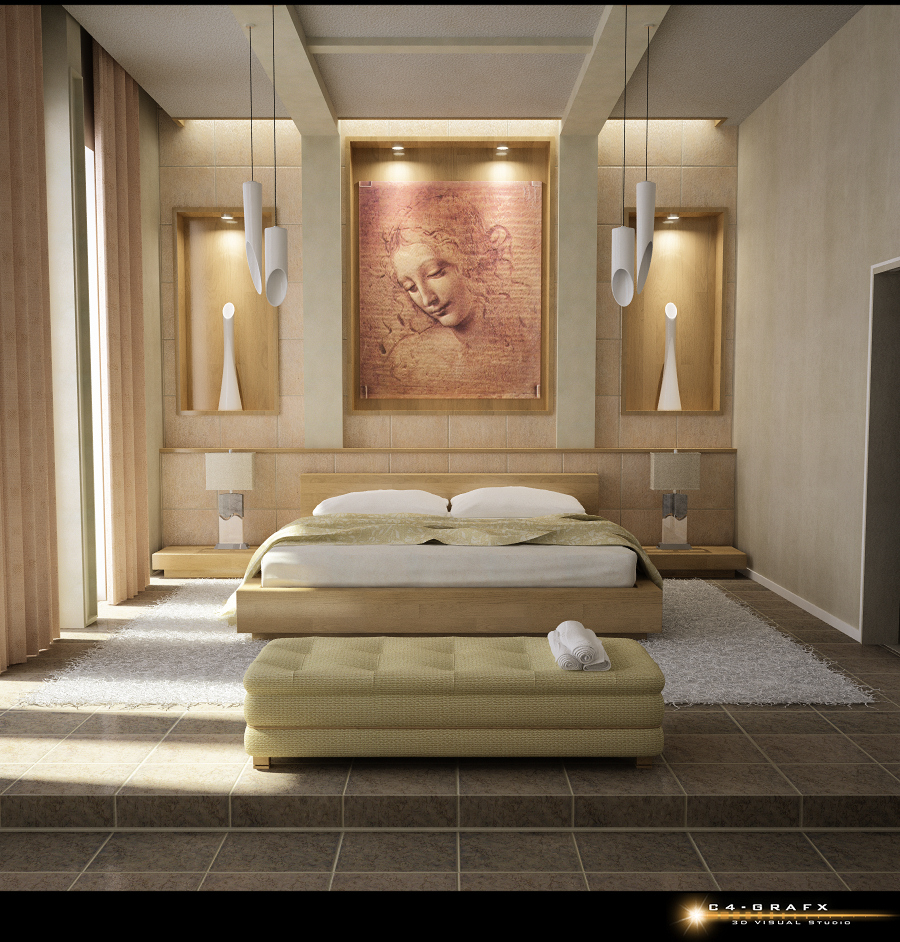 Master Bedroom - 5 Stunning Bed Wall Ideas.