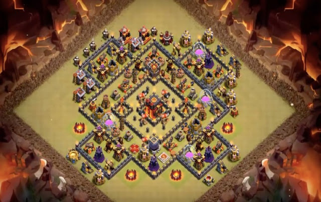 Strategi terkuat COC TH 10 Anti Miner