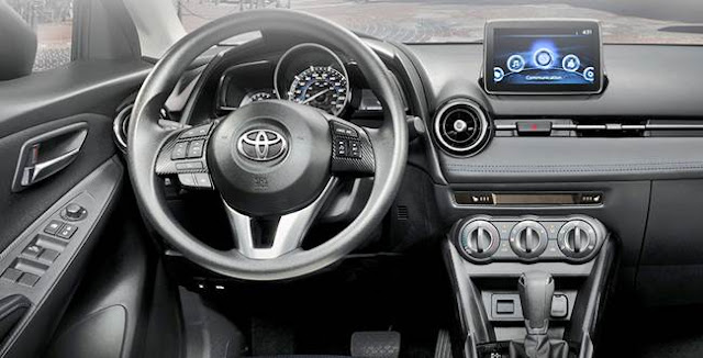 2016 Toyota Yaris Sedan Space