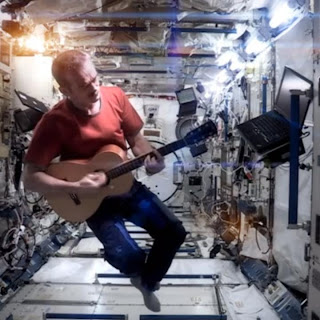 Space Oddity Chris Hadfield from ISS