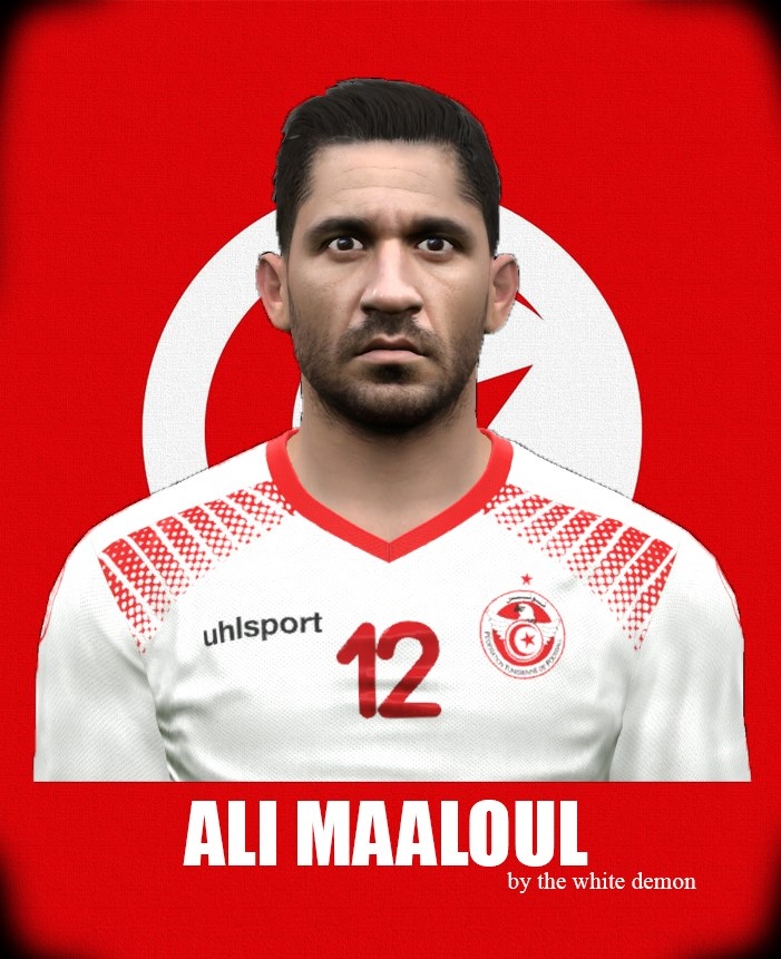 PES 2017 Ali Maaloul Face By The White Demon