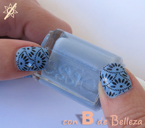 Kaleidoscope BP L004 Nail art