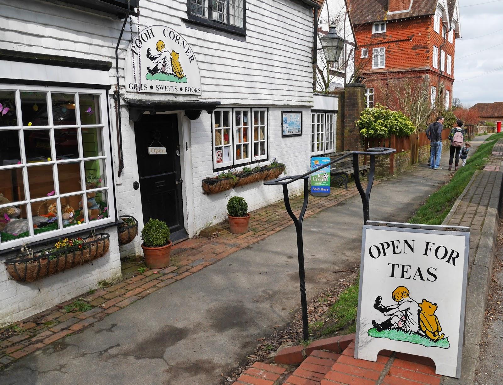 Pooh Corner gift shop in Hartfield, Ashdown Forest