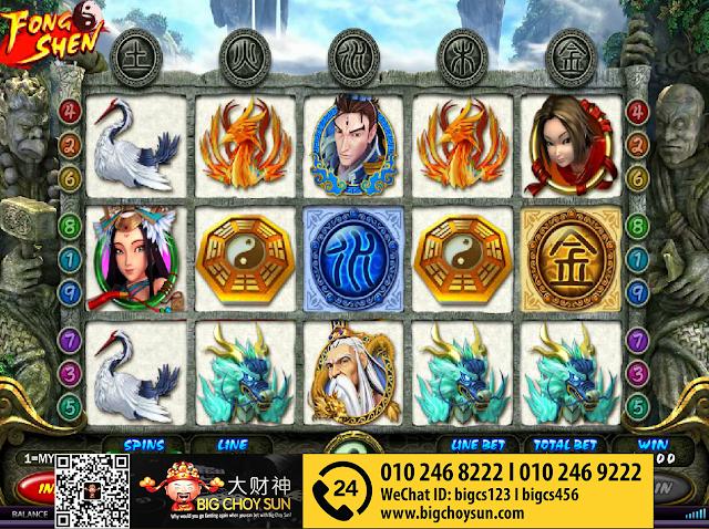 Clubsuncity Casino | Fong Shen | Online Slot Game