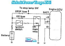 Jenis-Jenis Sirkuit Power Pada Mesin EFI
