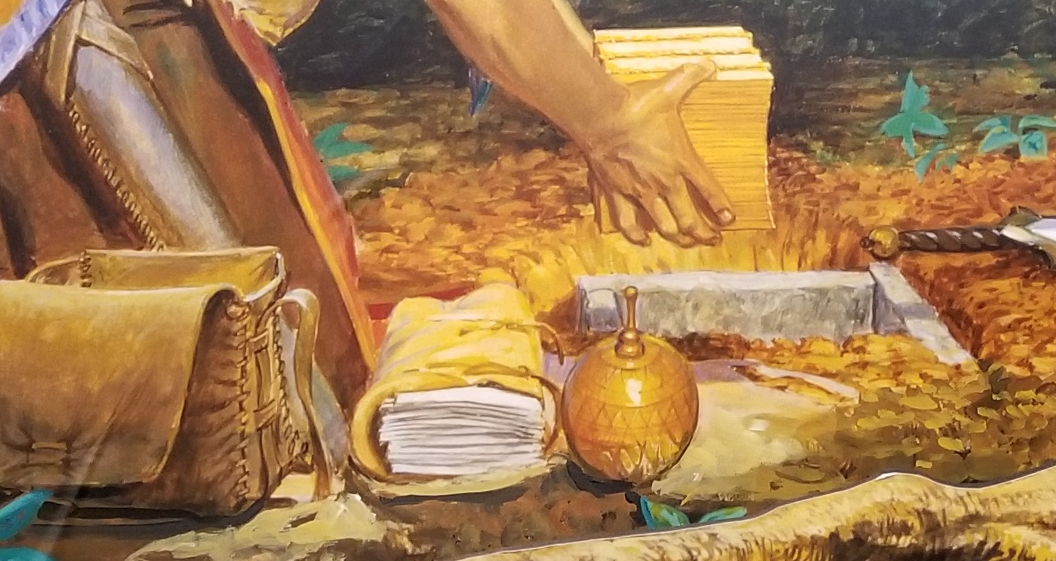 Image result for moroni's stone box