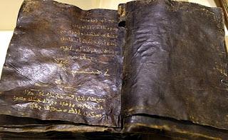 Evanghelia lui Barnaba, descoperită în Tucia, poză de pe internet...