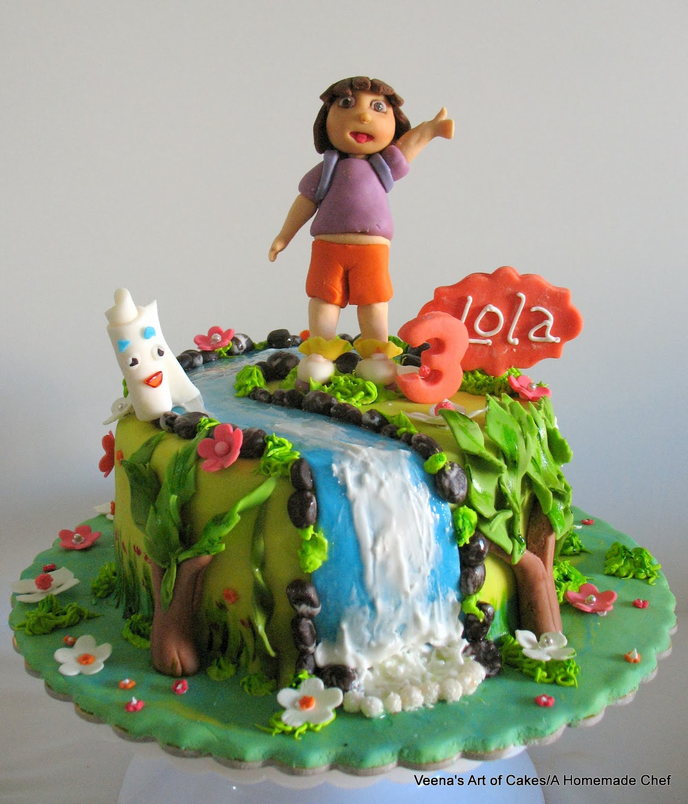 Dora The Explorer Cake Veena Azmanov