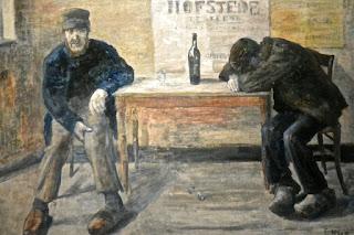 Bruxelles James Ensor : Les pochards Musée Fin de siècle
