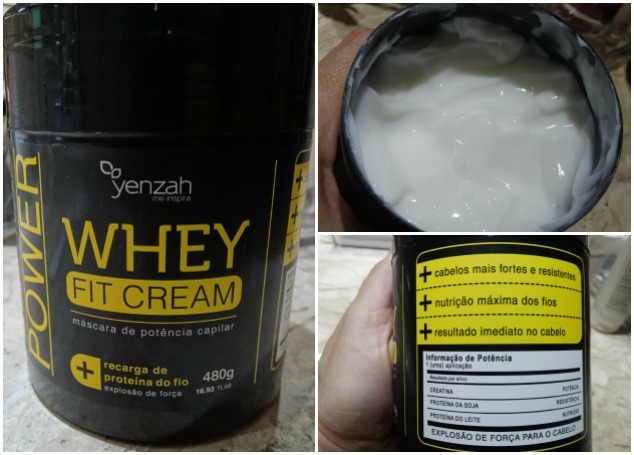 Whey Fit Cream Yenzah 2