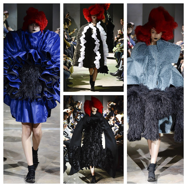 RUNWAY REPORT.....Paris Fashion Week: Comme des Garçons Rei Kawakubo Spring/Summer 2016 Photos