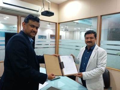 Signs agreement with AKG Engineering College.