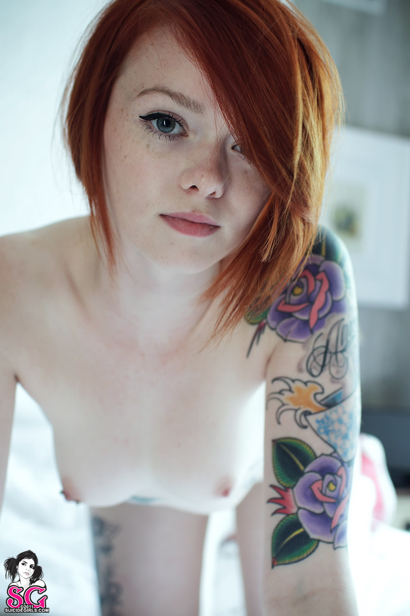 Girls suicidegirls freckles
