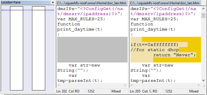 Binary tree firmware c