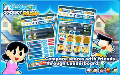 Download Doraemon Gadget Rush Apk v1.2.0 (Mod Bells) Terbaru last update 2016