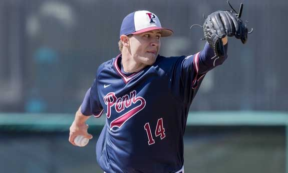 Penn pitcher Jake Cousins - Courtesy of Penn Athletics