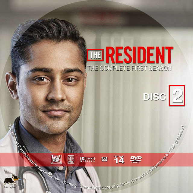 The Resident Season 1 Disc 2 DVD Label