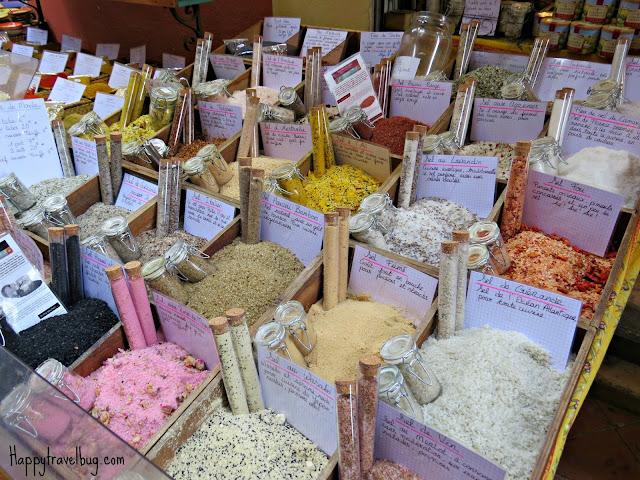 French bath salts in Nice, France