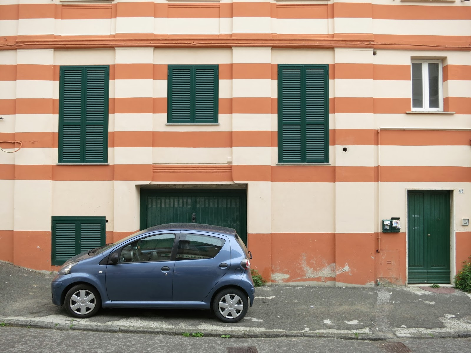 Parking violation in Liguria