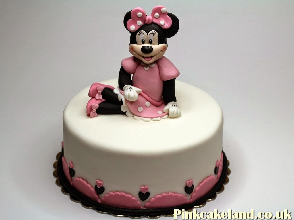 Minnie Mouse Cake, Petts Wood