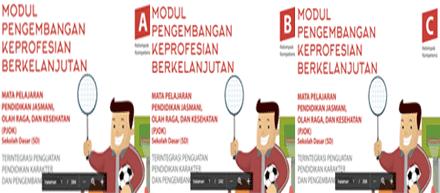 Modul PKB Guru Pembelajar PJOK Sekolah Dasar (SD) 2017