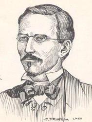 Dibujo de José Santos Degollado sin color