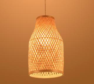 Model Lampu Rotan Unik