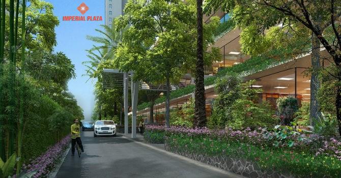Không gian xung quanh dự án Imperial Plaza