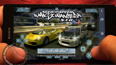 download Game PSP Need For Speed Most Wanted ISO/CSO