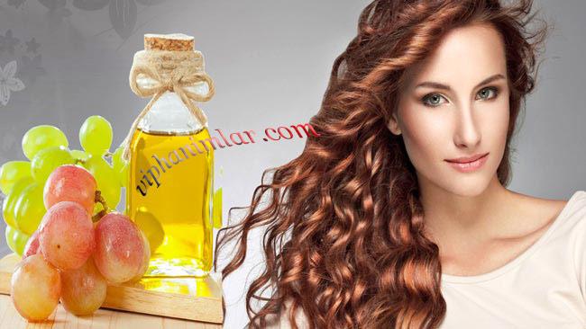 Sağlıklı Saçlar İçin Üzüm Çekirdeği Yağının Faydaları - www.viphanimlar.com
