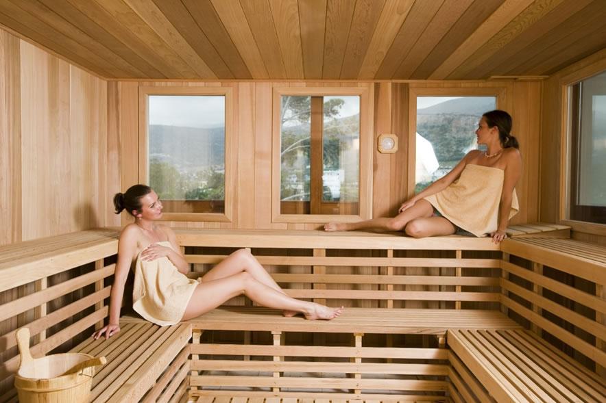 O que vestir na sauna