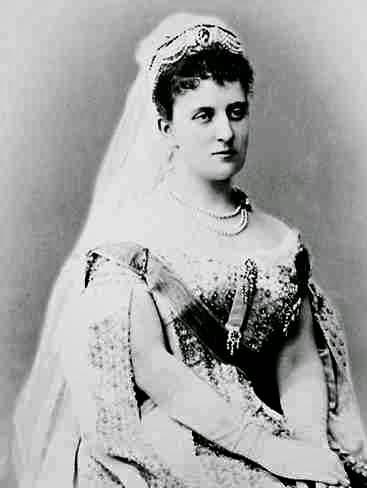 Princesse Helene de Saxe-Altenbourg, née duchesse de Mecklembourg 1857-1936