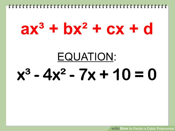 How To Solve Cubic Polynomial Maths Buddies